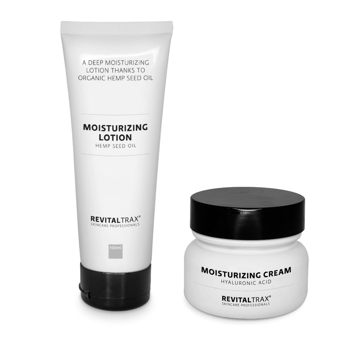 RevitalTrax Moisturizing Lotion and Moisturizing Cream