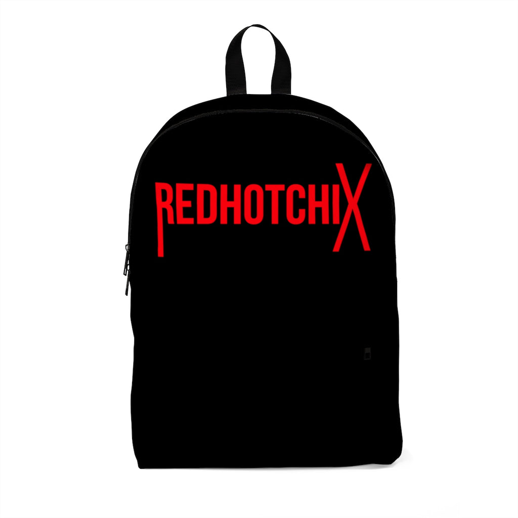 BLACK REDHOTCHIX BACKPACK