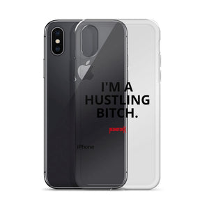 HUSTLING BITCH IPHONE CASE