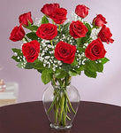 Rose Elegance™ Premium Long Stem 12 Roses