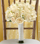 All White Bouquet
