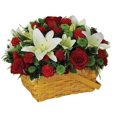 Holiday Greetings Basket