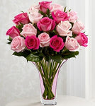 The FTD® Mixed Pink Rose Bouquet