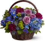 Teleflora's Twilight Garden Basket