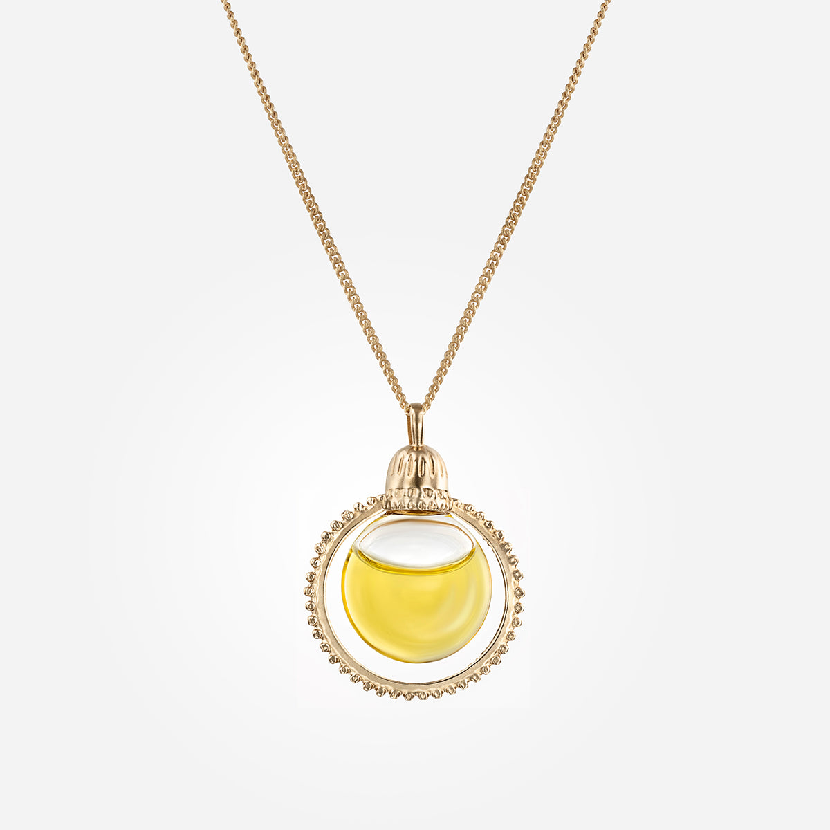 Halo Oil Necklace