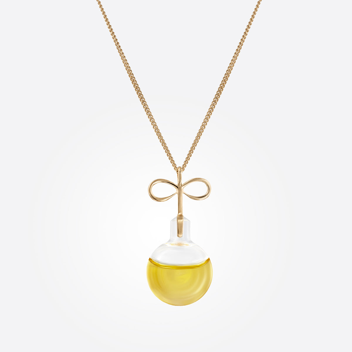 Infinity Oil Necklace