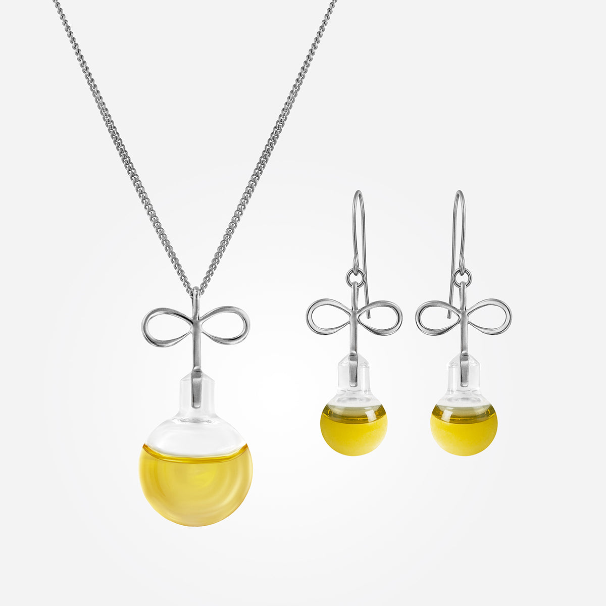 Infinity Oil Set Silver