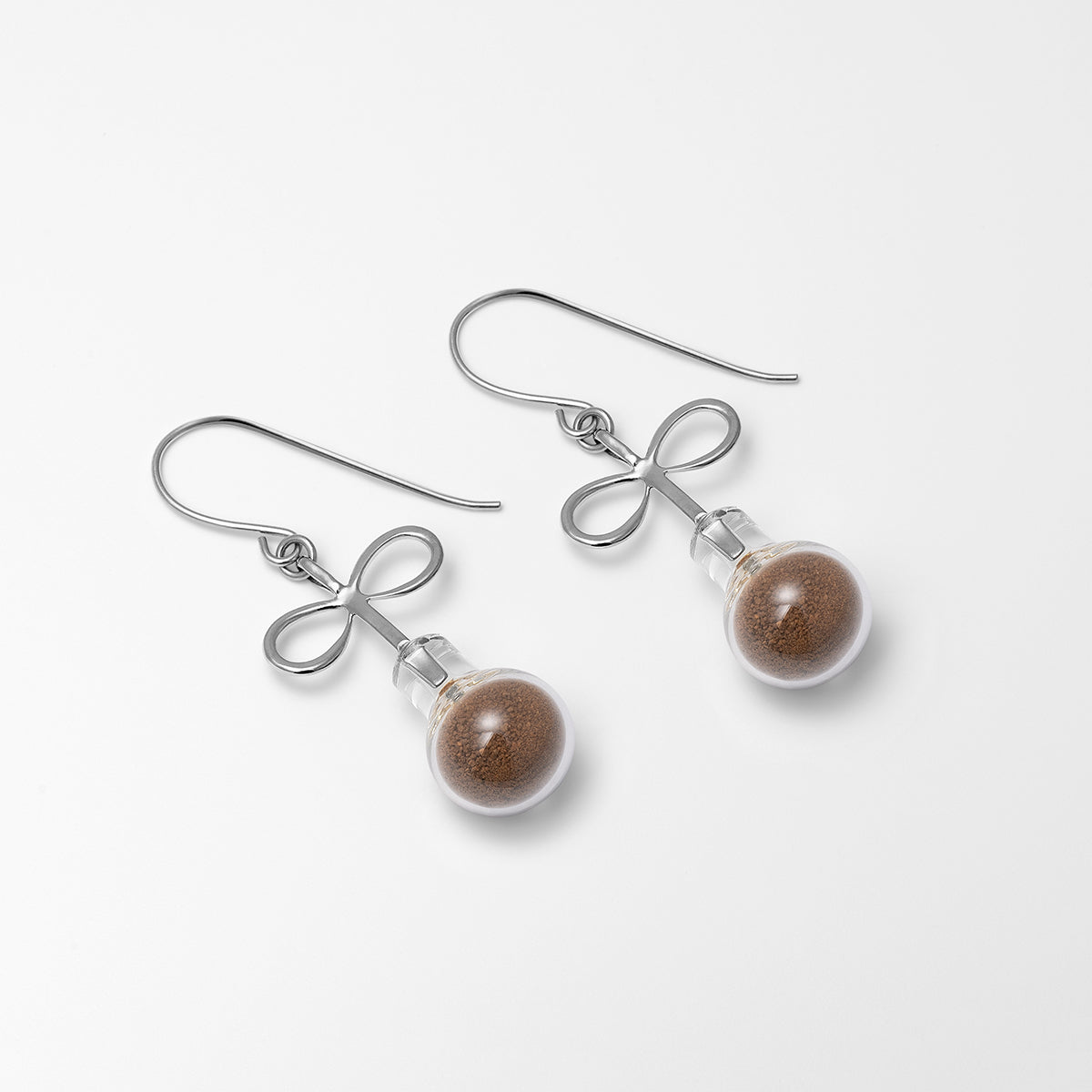 Infinity Soil Earrings Silver