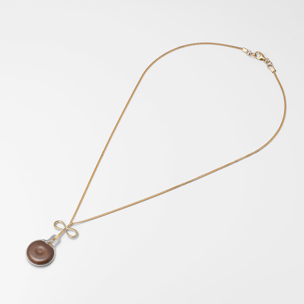 Infinity Soil Necklace Silver