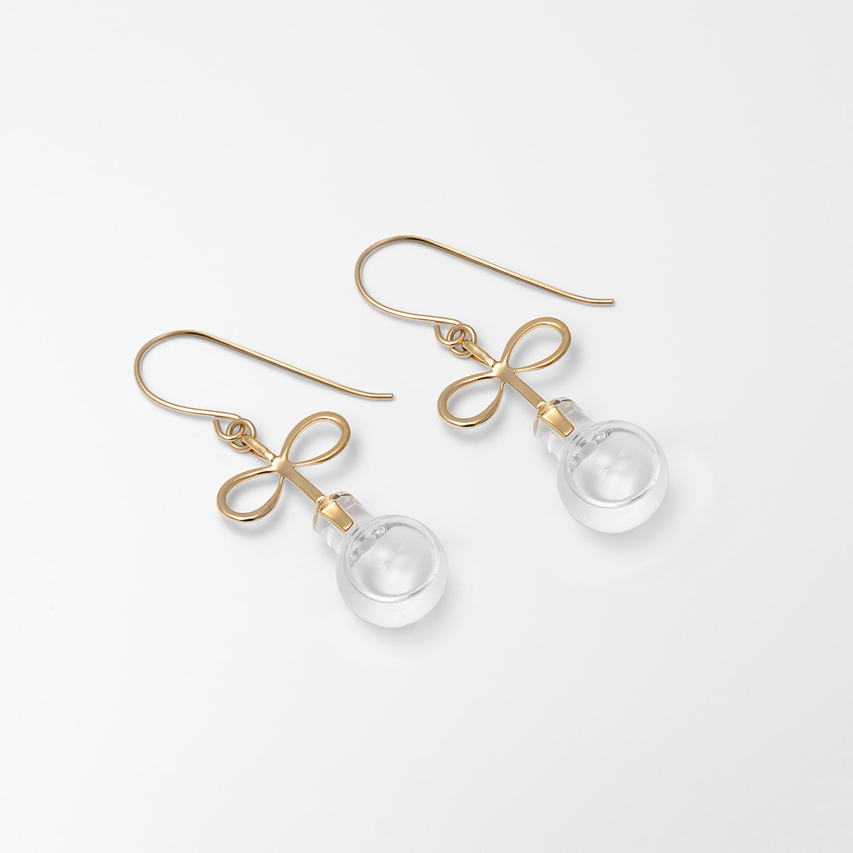 Infinity Water Earrings