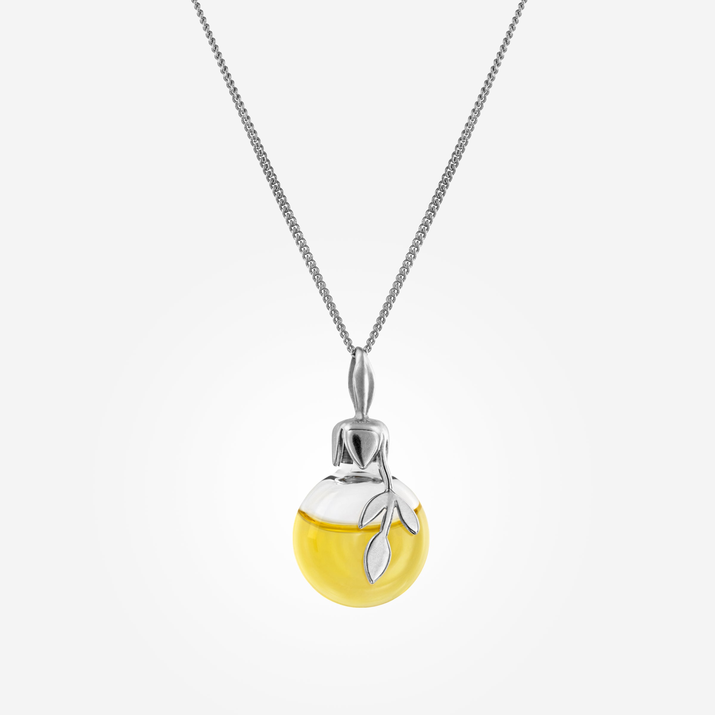 Leaf Oil Necklace