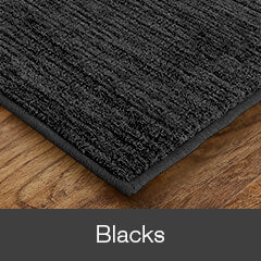 Black Colored Rugs