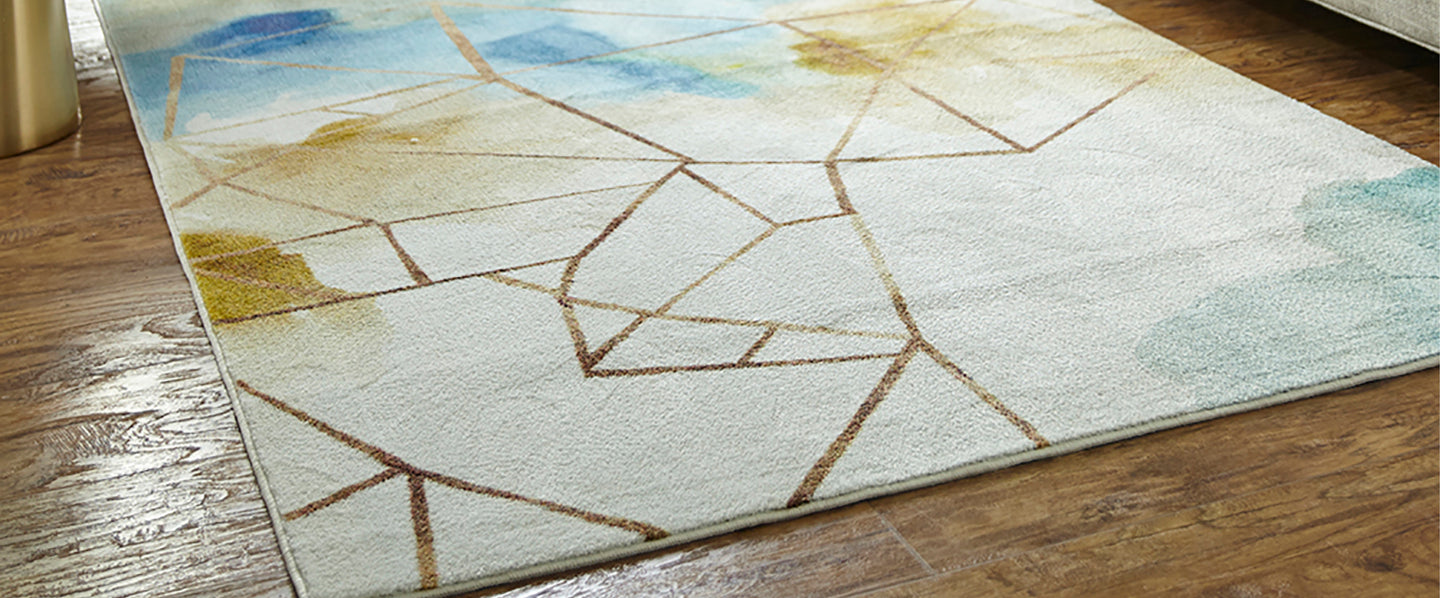 Add a unique feel to any room with one of our transitional area rugs.