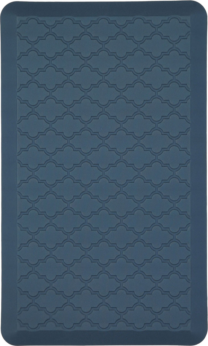 Luxe Ornamental Blue Mat