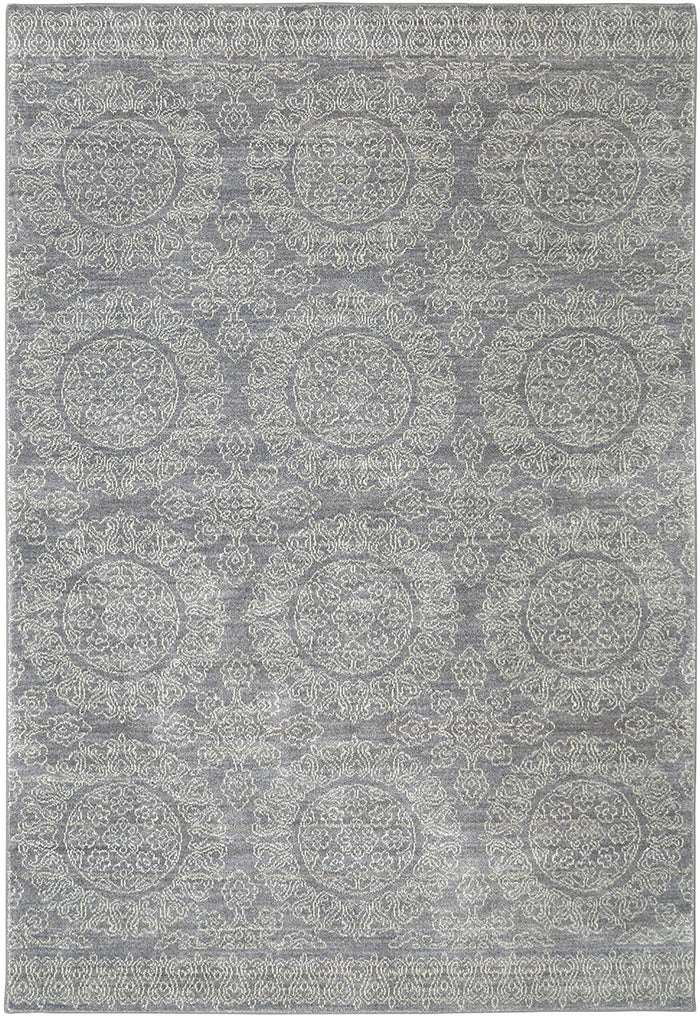 Savvy Harper Gray & Brown Area Rug