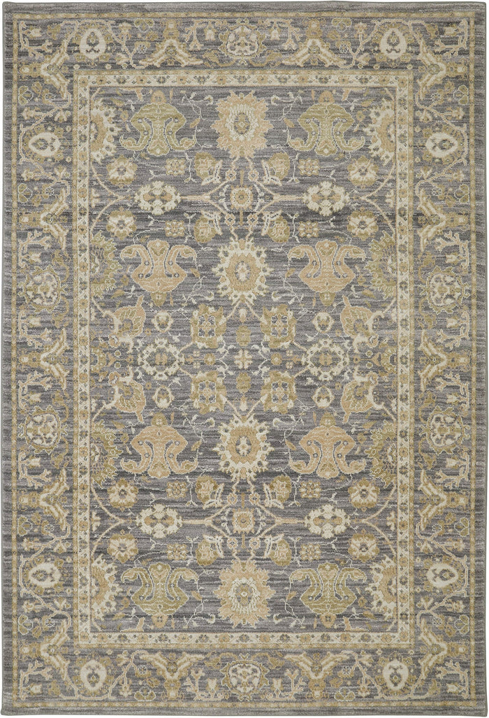 Luzon Amarante Gray Area Rug