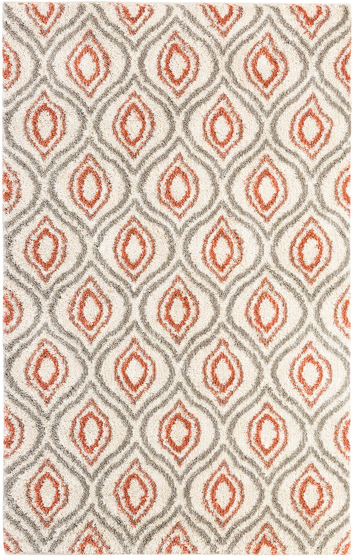 Heathland Wallaby Gray & Pink Area Rug
