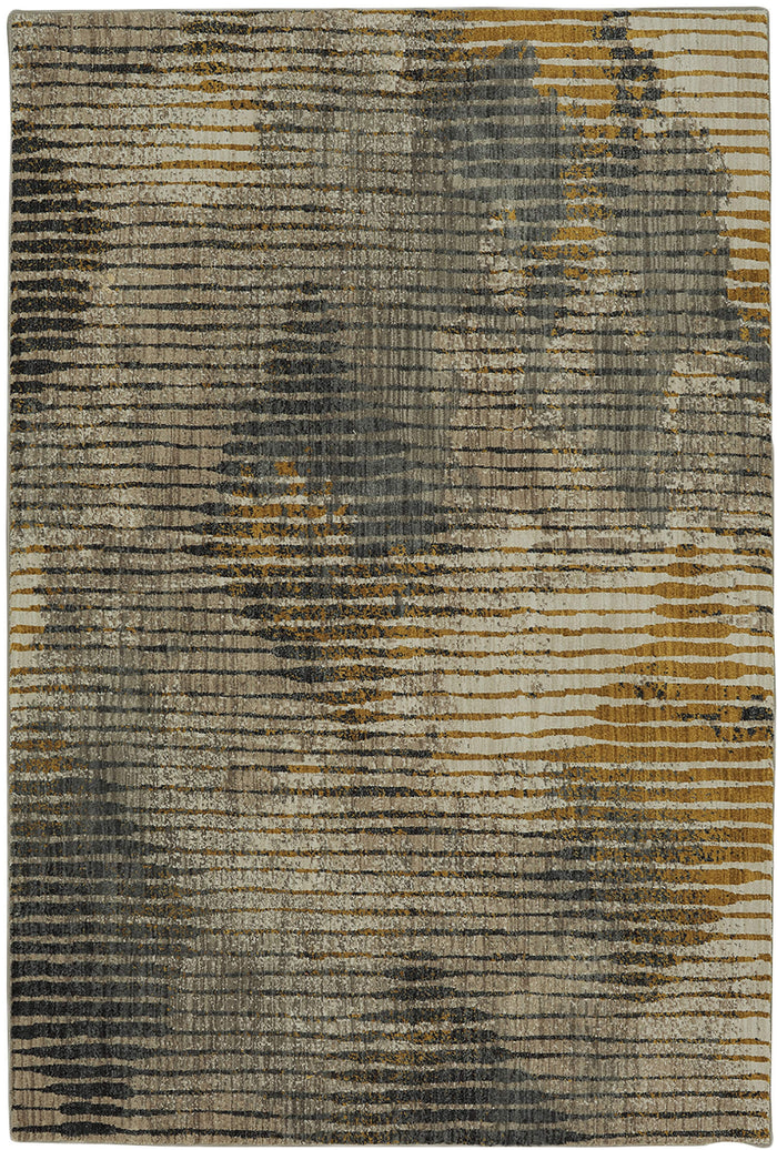 Seychelles Carmen Gray & Yellow Area Rug