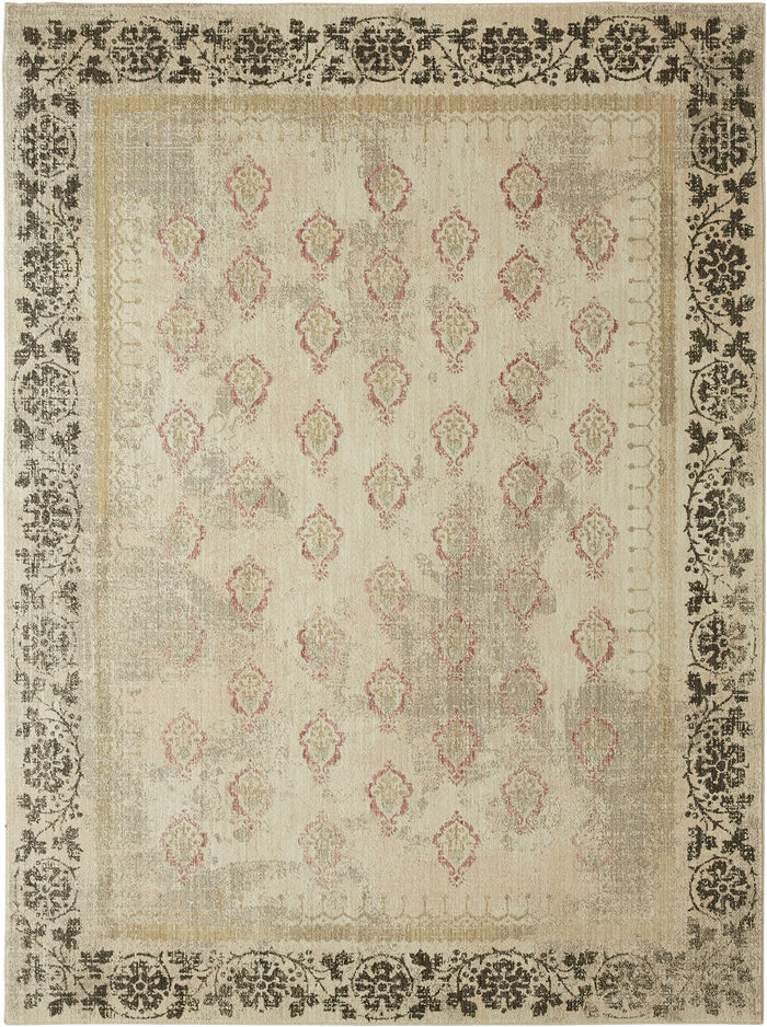 Metropolitan Lorraine Brown & Gray Area Rug