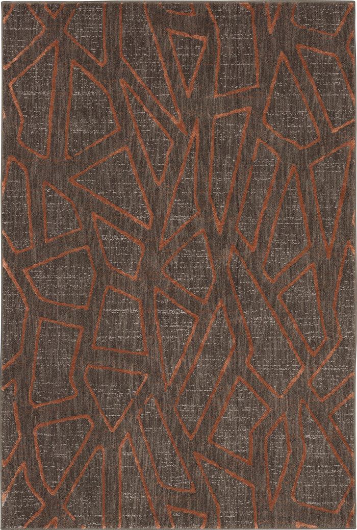 Karastan Soiree Gibson Smokey Grey Area Rug