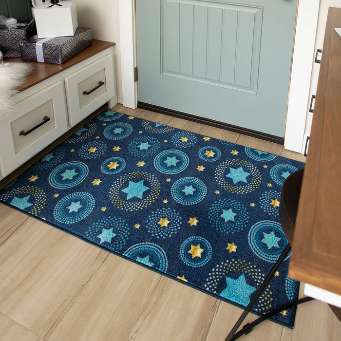 Holiday Stars Multi Accent Rug