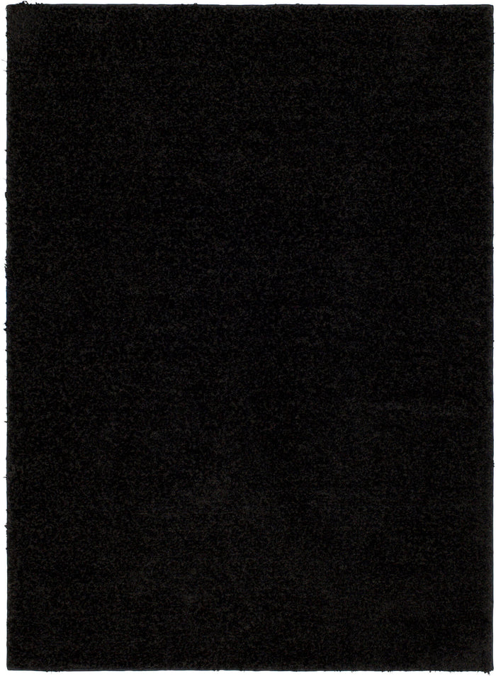 Lanier Black Area Rug