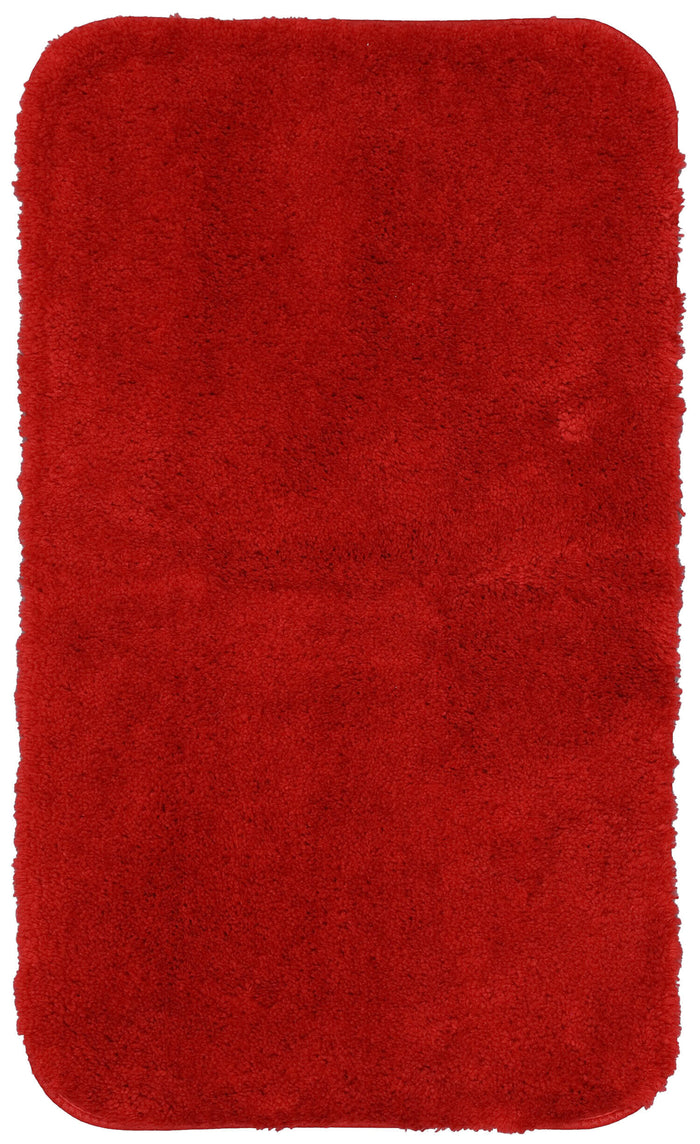 Lakeside Cabin Red Bath Mat