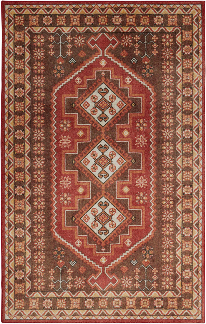 Technicolor Crawford Brown Area Rug