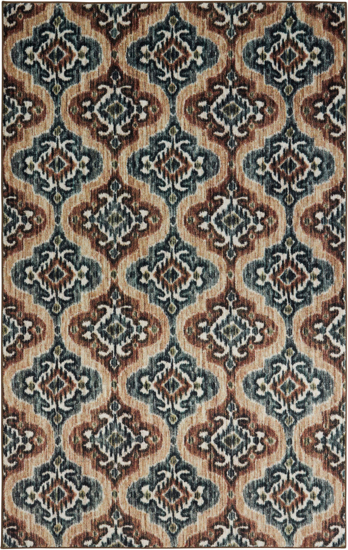 Technicolor Cicero Gray & Brown Area Rug