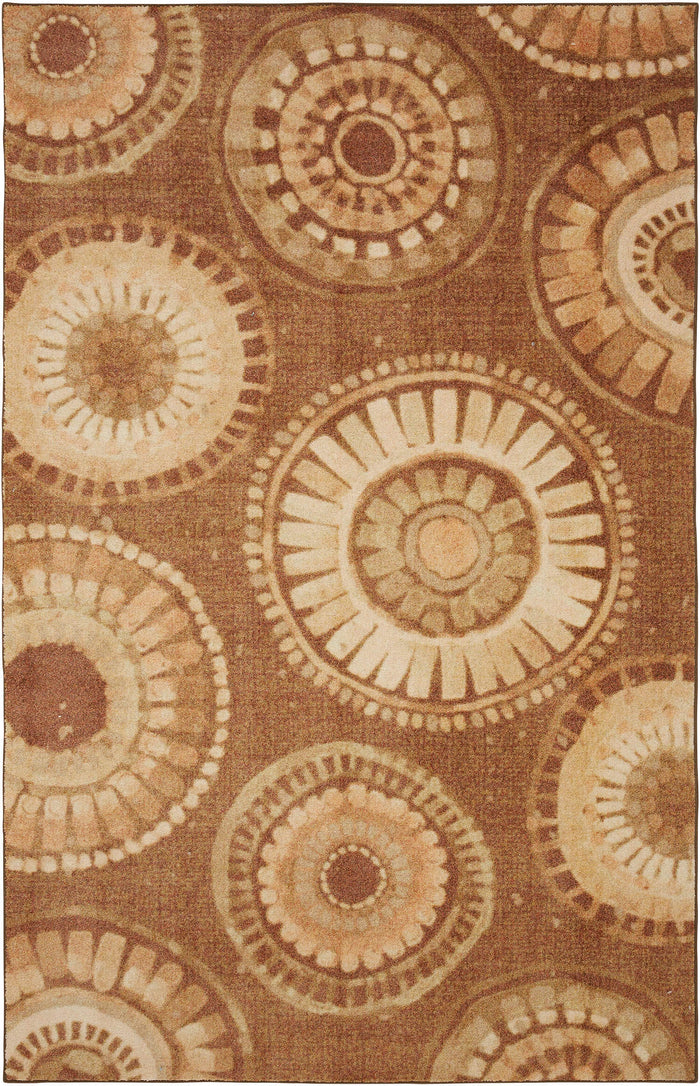 Technicolor Beverly Brown Area Rug