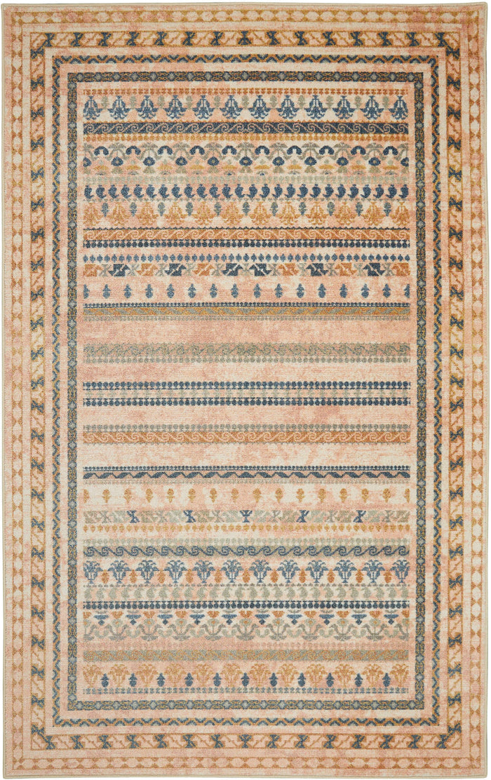 Technicolor Reserve Gold Area Rug