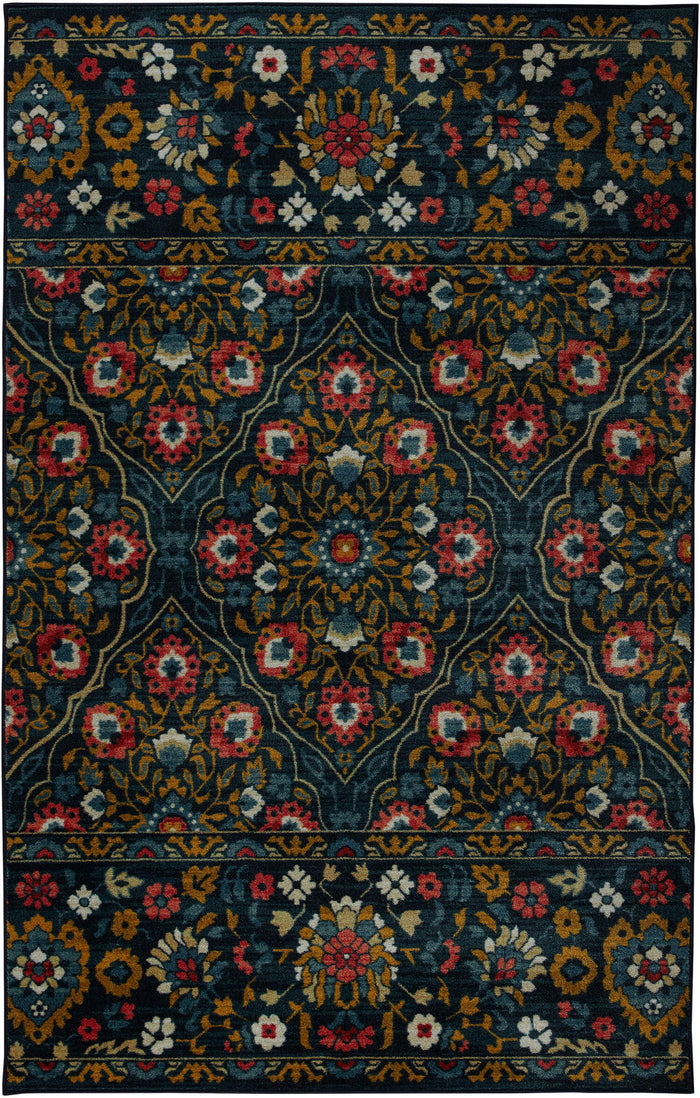 Technicolor Christobal Blue Area Rug