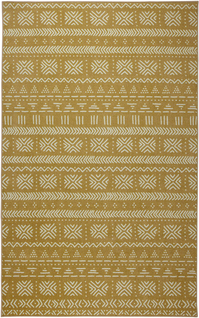 Technicolor Ana Brown Area Rug