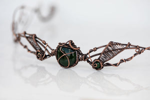 copper-circlet-dark-green-fused-glass-accent-nymph-in-the-woods-jewelry