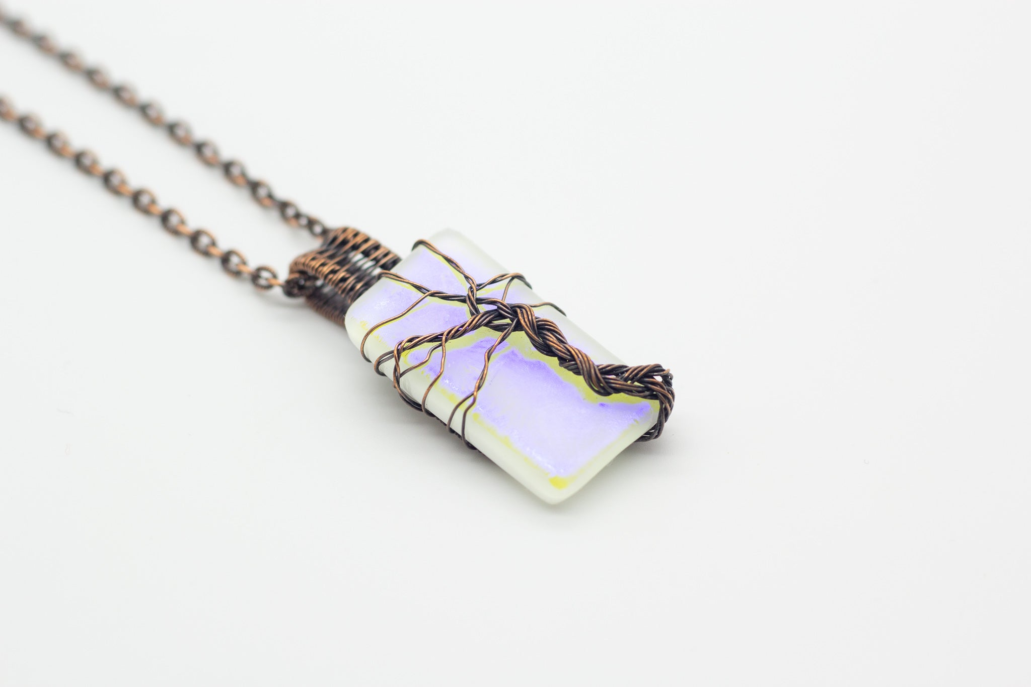 white-dichroic-fused-glass-copper-tree-of-life-pendant-nymph-in-the-woods-jewelry