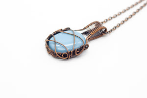 light-blue-fused-glass-copper-wire-wrapped-pendant-nymph-in-the-woods-jewelry