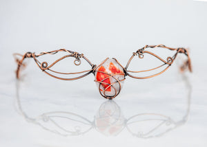 copper-circlet-red-and-white-fused-glass-accent-nymph-in-the-woods-jewelry