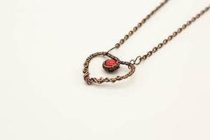 small-copper-wire-wrapped-heart-pendant-red-fused-glass-nymph-in-the-woods-jewelry