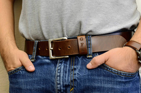 Full Grain Leather Belt for Men