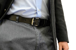 Formal Dress Full Grain Leather Belt for Men