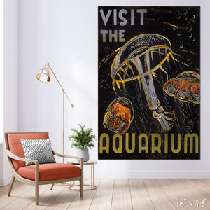 Aquarium Colossal Art Print