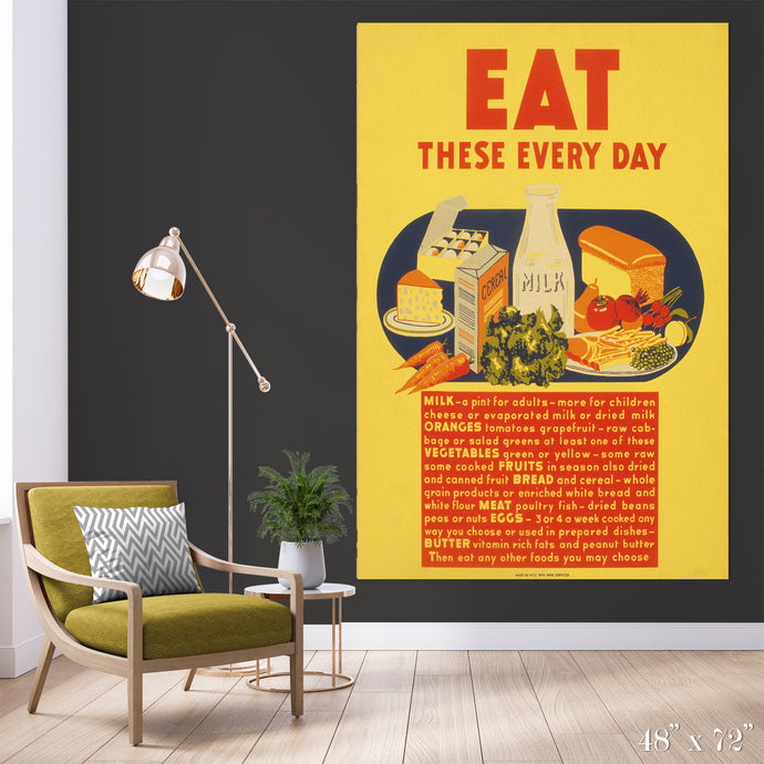 Balanced Diet Colossal Art Print