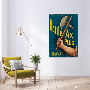 Battle Ax Colossal Art Print