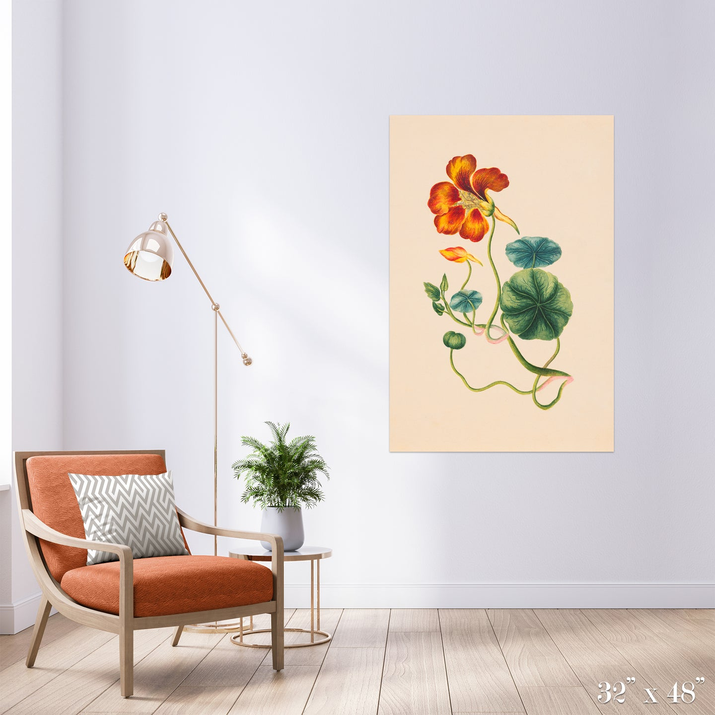 Blossom and Bud Colossal Art Print