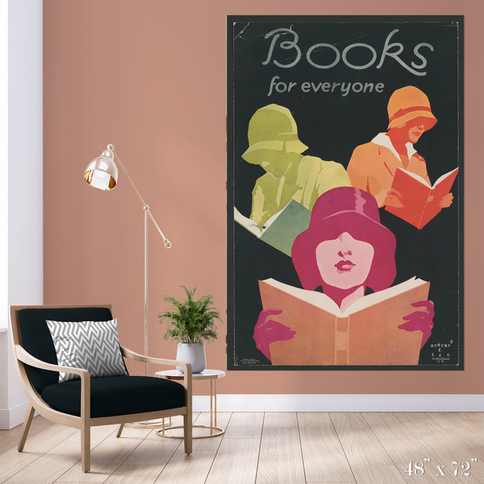 Books for Everyone Colossal Art Print