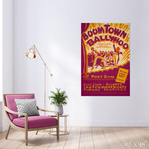 Boomtown Ballyhoo Colossal Art Print