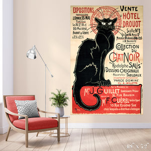Chat Noir Colossal Art Print
