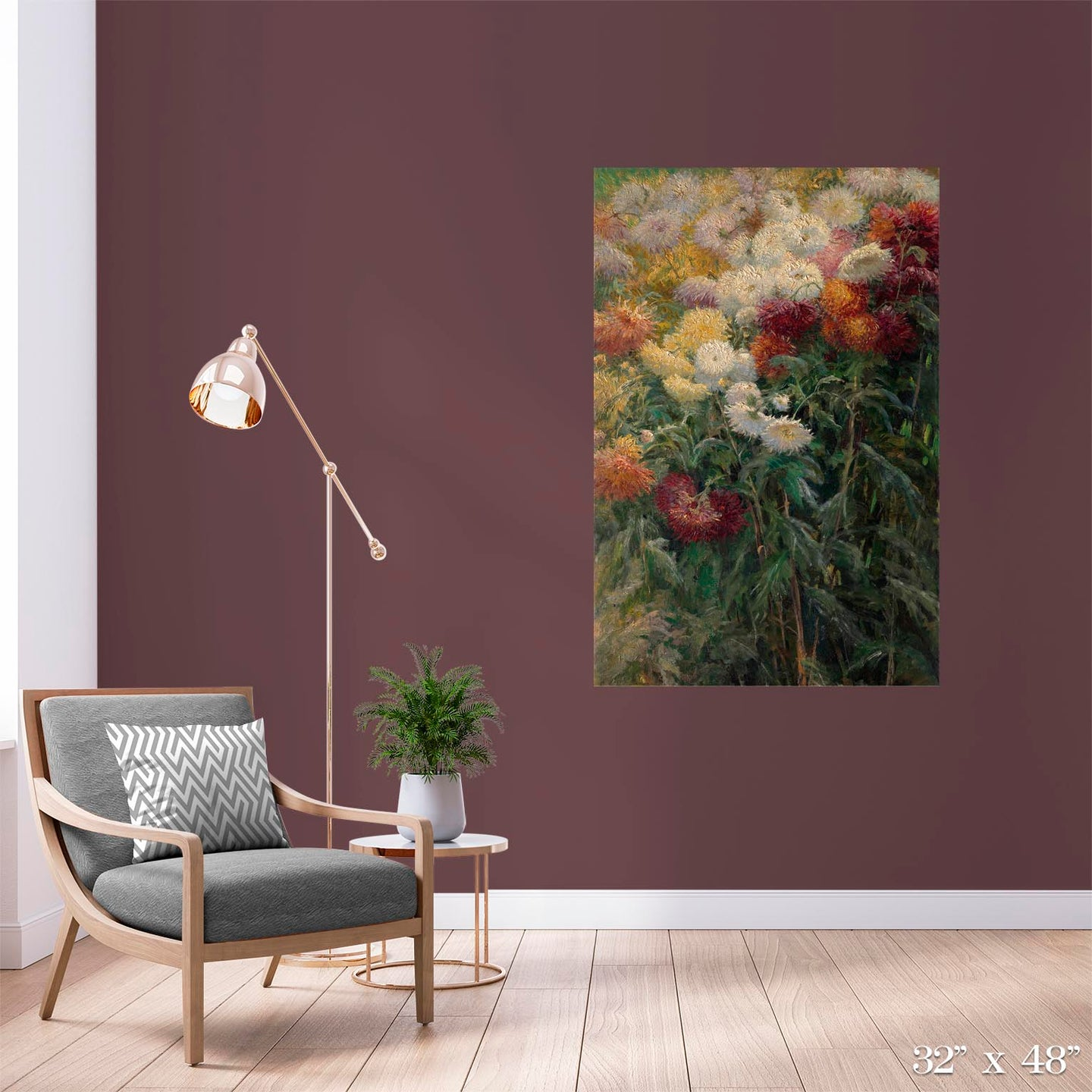 Chrysanthemums Colossal Art Print