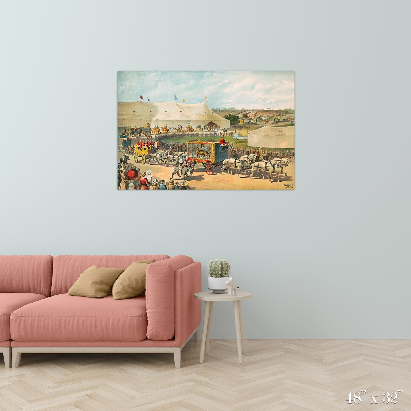 Circus Parade Colossal Art Print