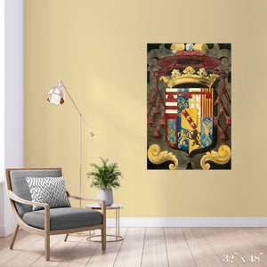 Coat of Arms Colossal Art Print